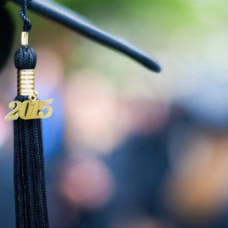 2015 tassel of graduation cap