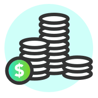 coins icons