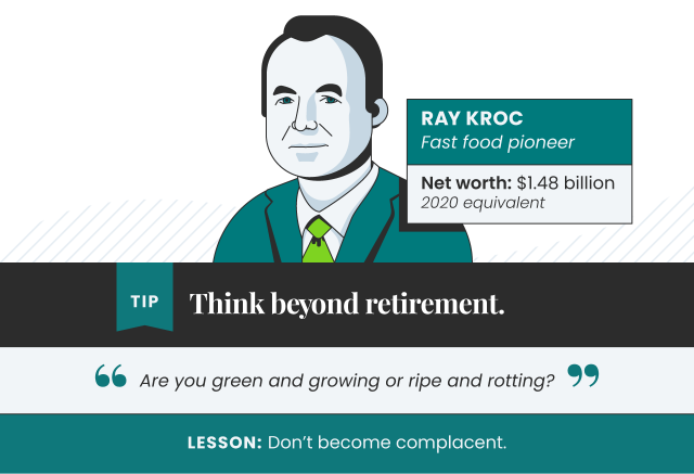 Tips from Ray Kroc
