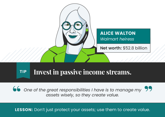 Tips from Alice Walton