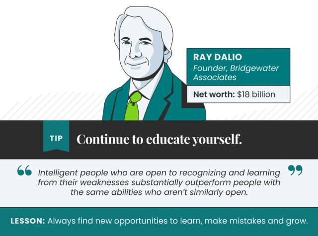 Tips from Ray Dalio