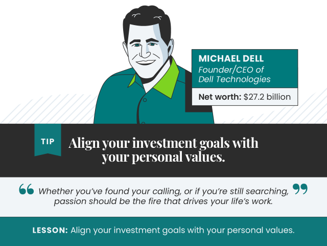 Tips from Michael Dell