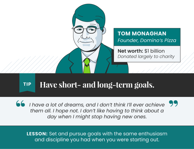 Tips from Tom Monaghan