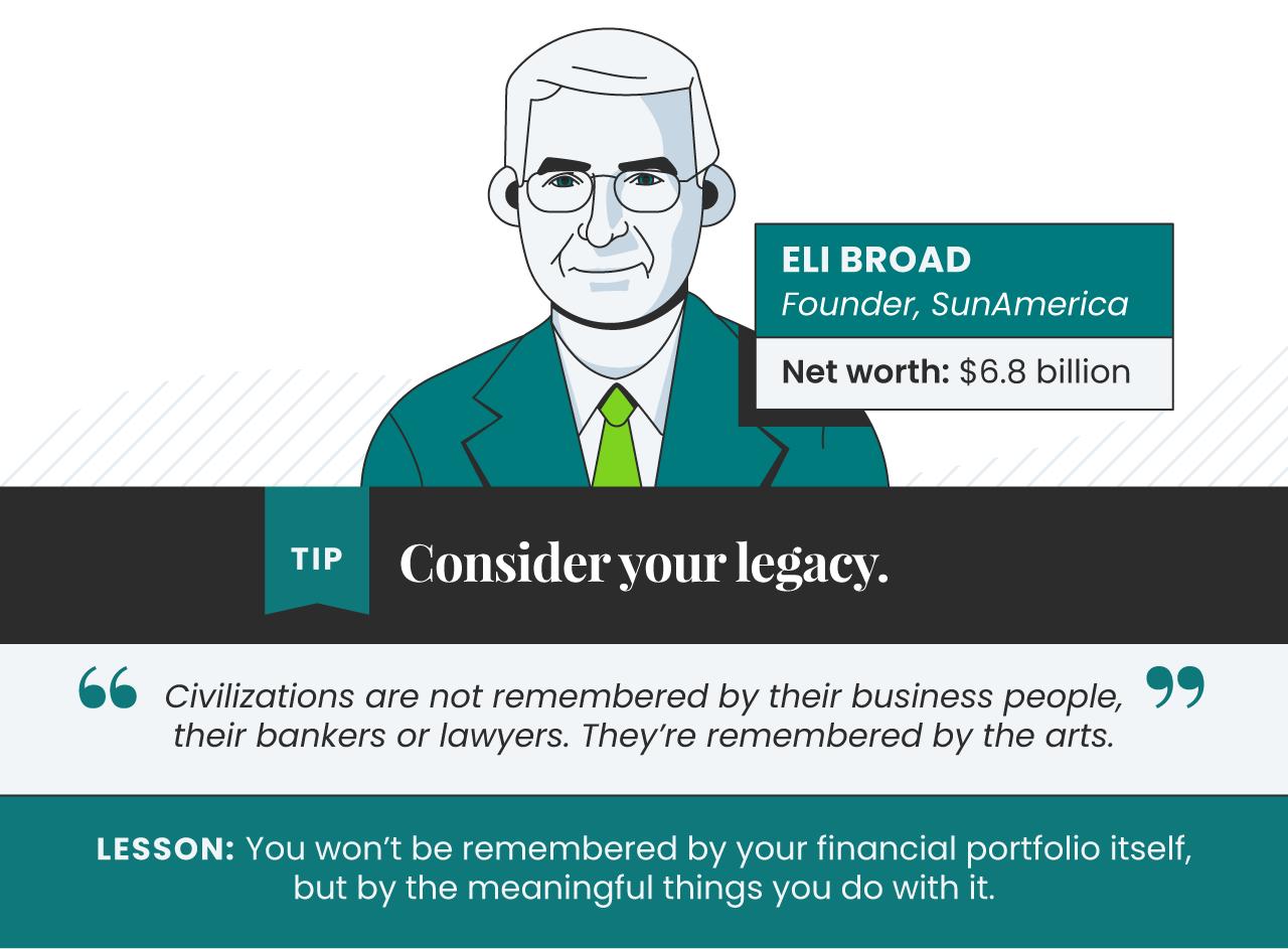 ANN Billionaire Investment Tips 07 Eli Broad