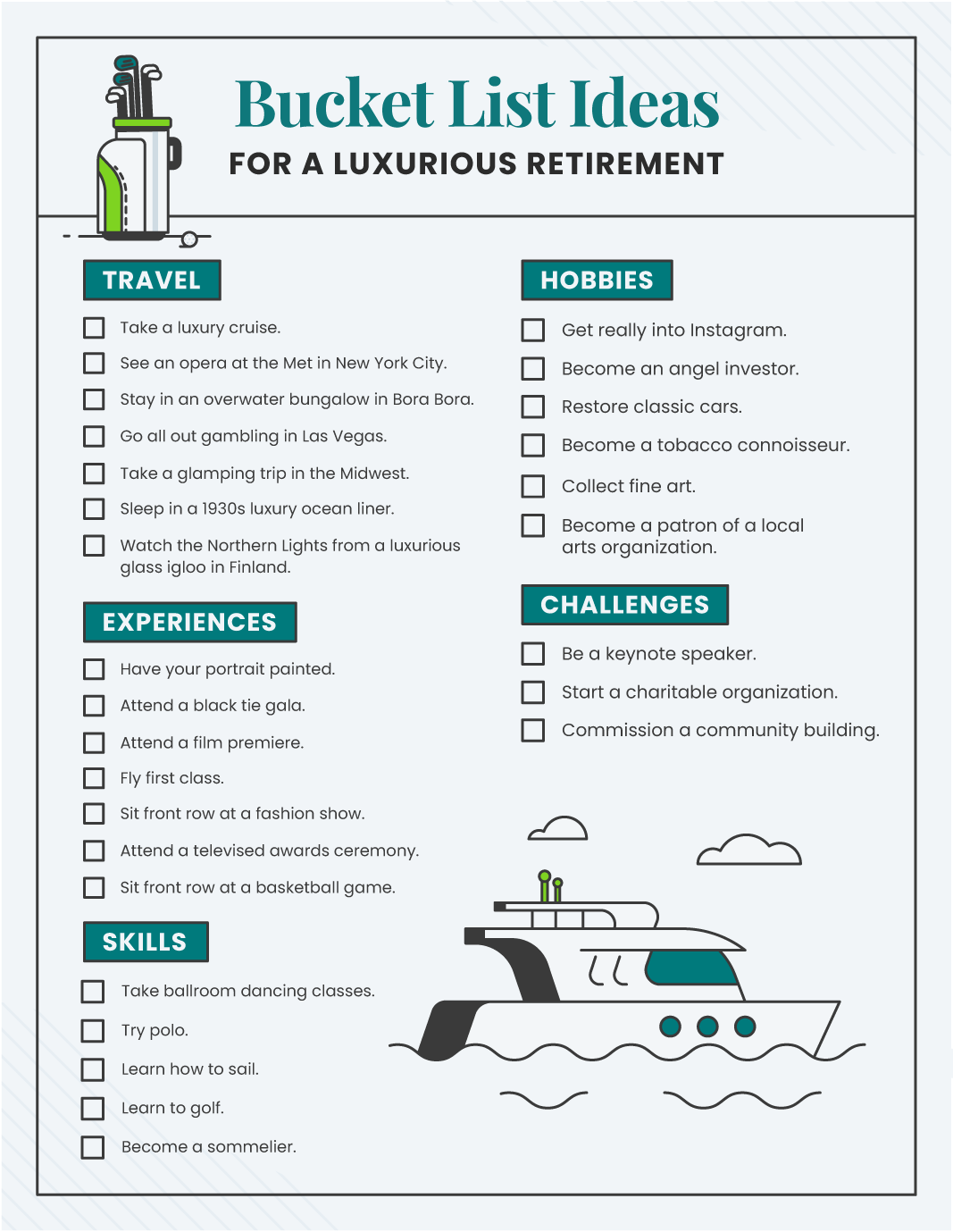 20+ Bucket List Ideas for Retirement   Annuity.org