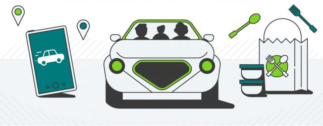 Rideshare Illustration