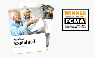 The Annuities Explained .PDF with the Gramercy Institute award