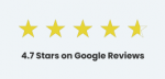 Fortune Google Review Stars