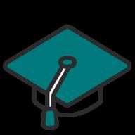 Icon - Graduation cap