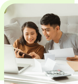 Couple buying an annuity