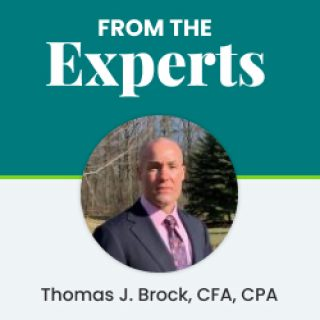 From The Experts: Thomas J. Brock CFA, CPA