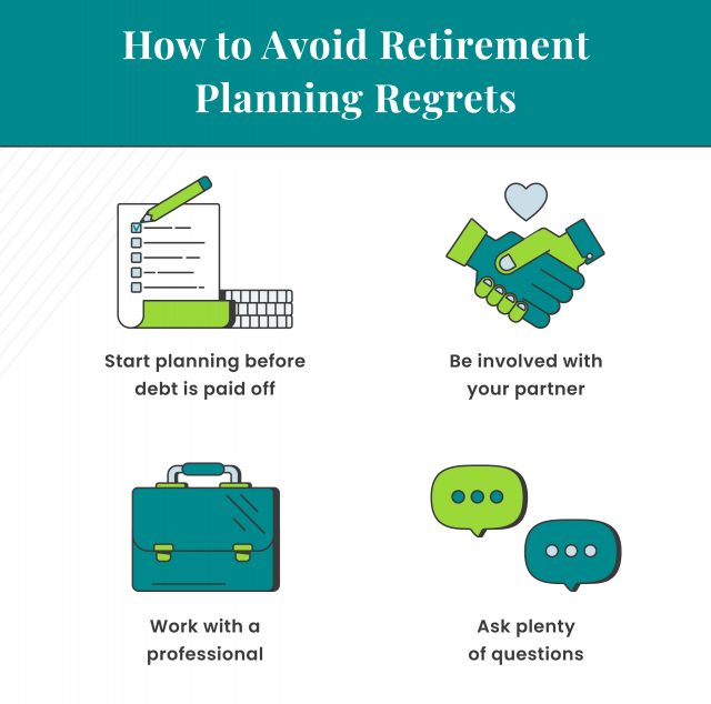How to avoid retirement planning regrets