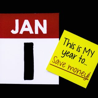 New Year's Resolution to Save Money