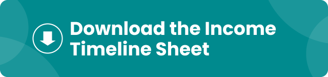 download the income timeline sheet button