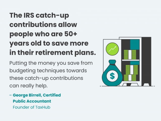 IRS catch-up contributions retirement tip