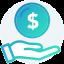 holding money icon
