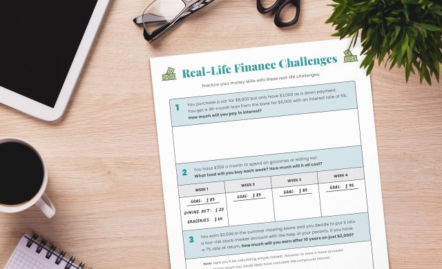 Real-Life Finance Challenges