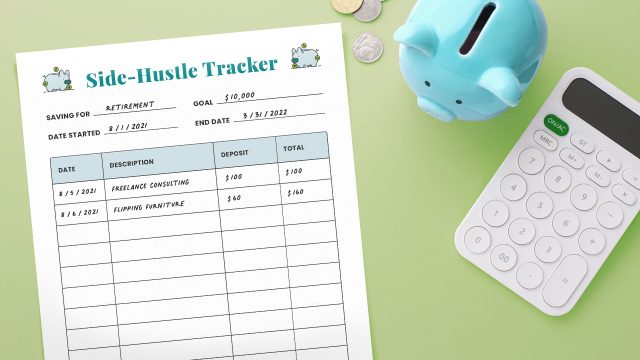Side Hustle Tracker