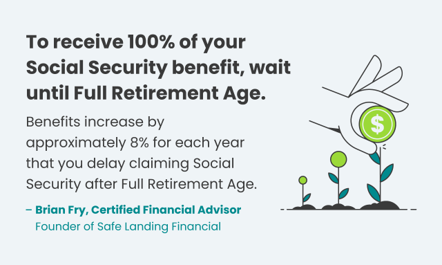 Financial tip on receiving 100% of social security benefits