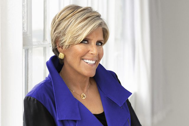 Suze Orman, author and former TV show host