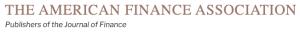 The American Finance Association logo