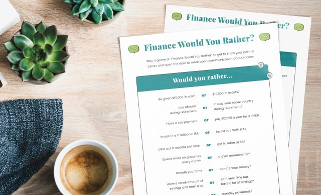 Finance Would You Rather?